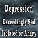 Depression – Exceedingly Sad / Isolated or Angry